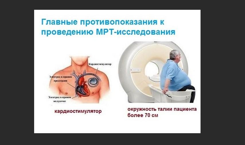 Запрет МРТ