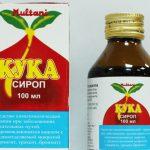Кука сироп от кашля – инструкция по применению