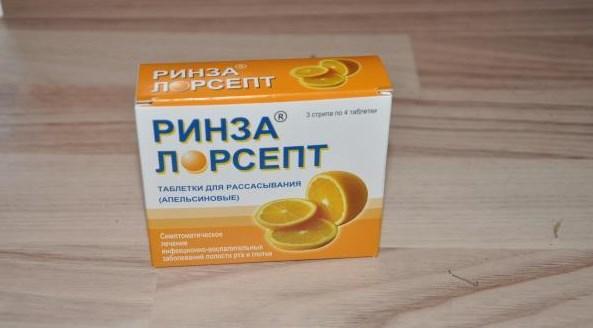 Ринза Лорсет препарат