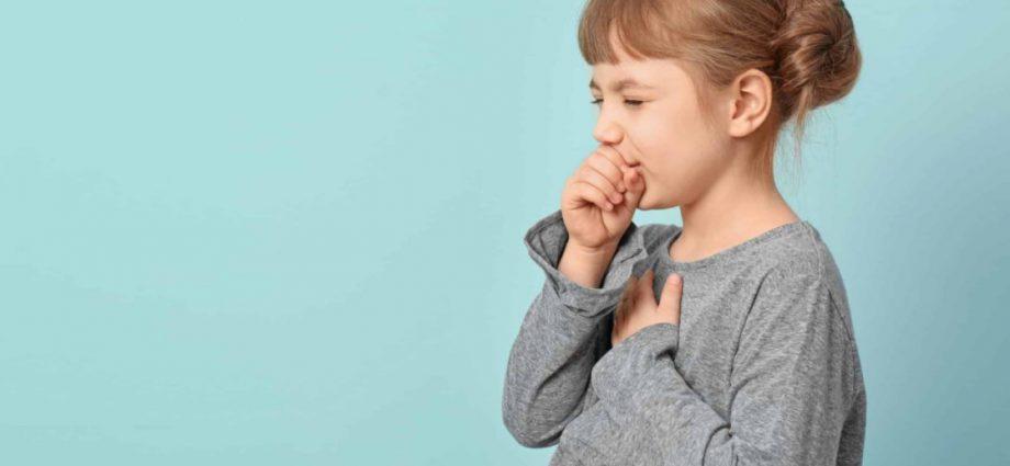 Остаточный кашель уребенка