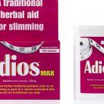 Таблетки Адиос Макс для похудения - инструкция по применению